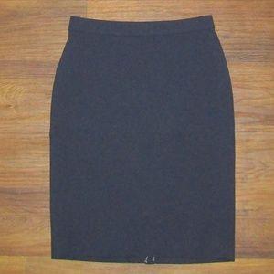 Ann Taylor Skirt Size 6 Blue Back Zip Woman